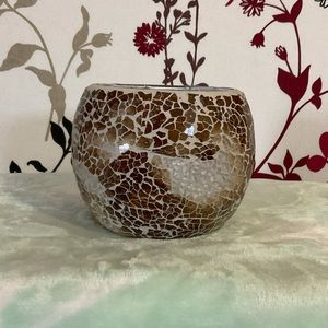 🌟🕯🌟 OFFERS WELCOME 🌟🕯🌟 Mosaic Candle Holder - glass $25